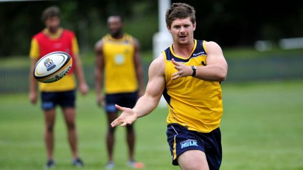 Brumbies prop Ruaidhri Murphy wants to play for the Wallabies.