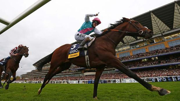 "The fee for Frankel reflects his merits as being perhaps the greatest racehorse we have ever witnessed"" ... Philip ..."