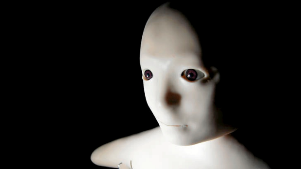 Robot help in the home will look more human, like the Telenoid pictured