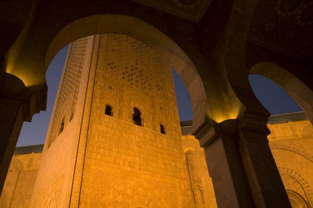The Mosque of Hassan II, Casablanca, Morocco. Photo: Annie Griffiths Belt/National Geographic