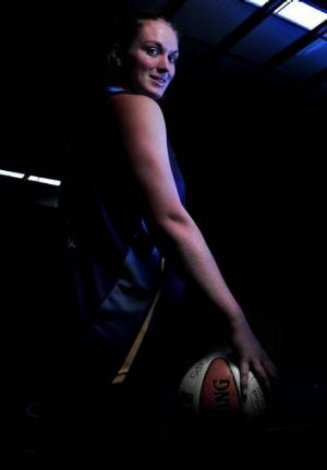Canberra Capitals forward Samantha Norwood.