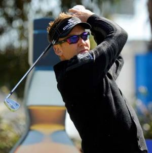 Ian Poulter ... one of the hottest golfers in the world at the moment.