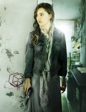Melissa George is a sassy secret agent in <i>Hunted</i>.