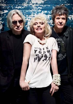 Top billing … veteran punks Blondie.