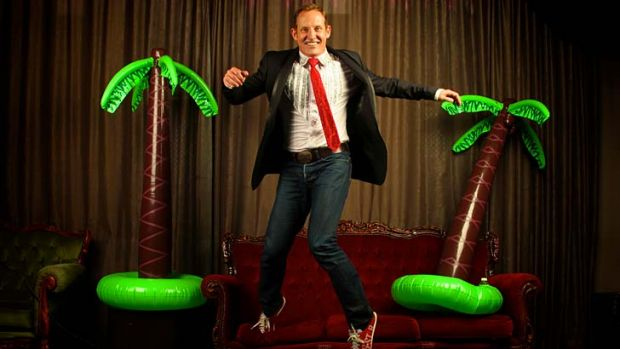 Boy from Oz … cabaret artist Todd McKenney.