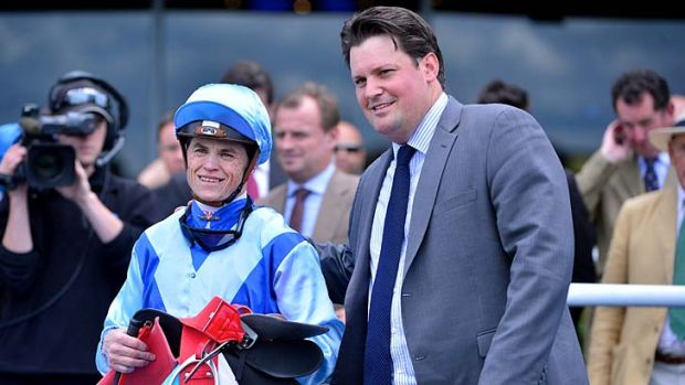 Craig Williams booted home Mahisara, for trainer Paul Messara, in one of his last rides before he departs Australia.