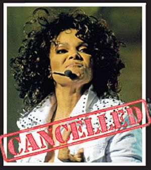 Janet Jackson ... undertaking vocal rest and flying to the US.