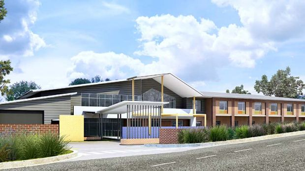 Hope for future ... an artist's impression of the new Quakers Hill Nursing Home.