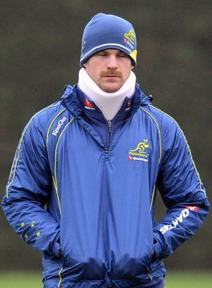 Sidelined for three months ... Pat McCabe.
