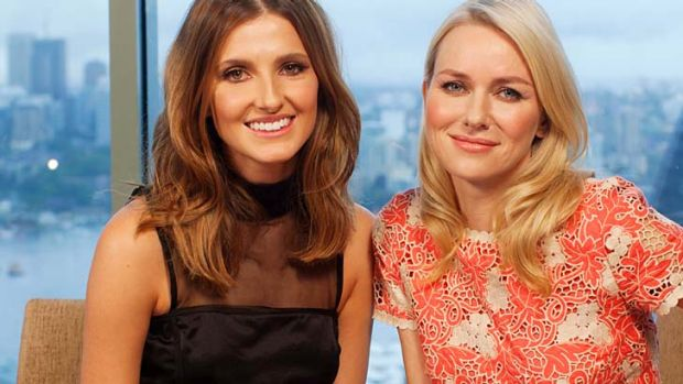 Kate Waterhouse with Naomi Watts.