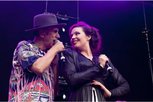 Dexys perform at the 2012 Harvest Festival.