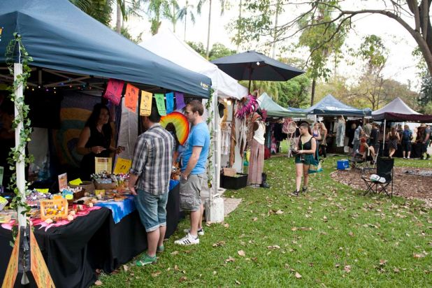 Stalls at the 2012 Harvest Festival.