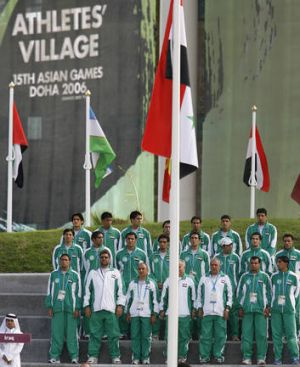 Iraqi sporting teams are preparing to sing a new anthem.