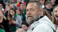 Souths owner Russell Crowe