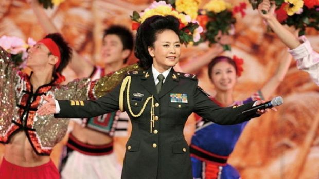 First Lady Peng Liyuan holds the rank of army general and is a regular performer at the annual Lunar New Year gala TV ...