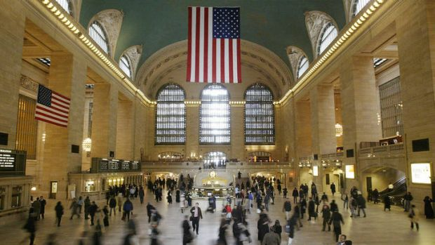 Grand Central Station in New York.