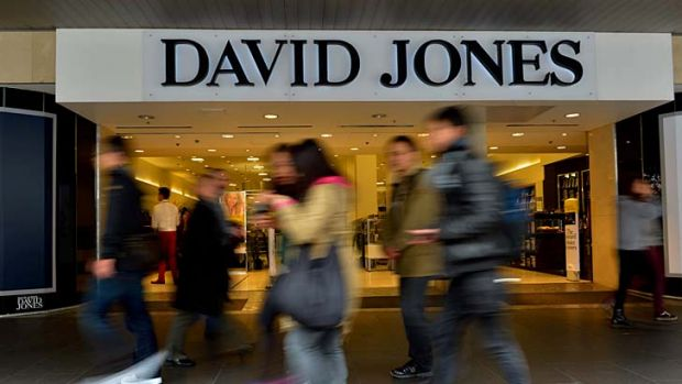 David Jones has seen more business in the past few months.
