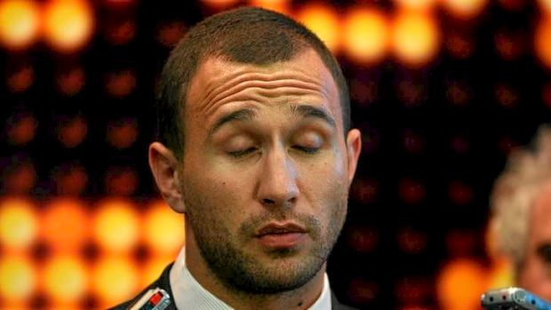 Blink and it's over ... Quade Cooper's rugby career shone brightly but briefly.