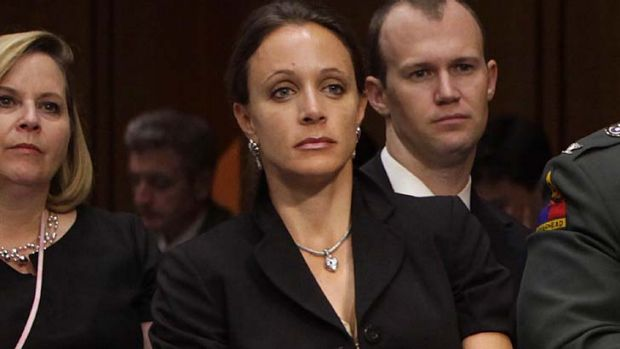 Caused a storm ...  Paula Broadwell.