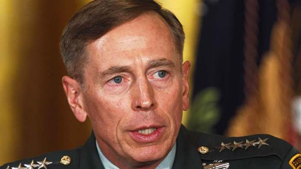 Had an affair ... General David Petraeus.