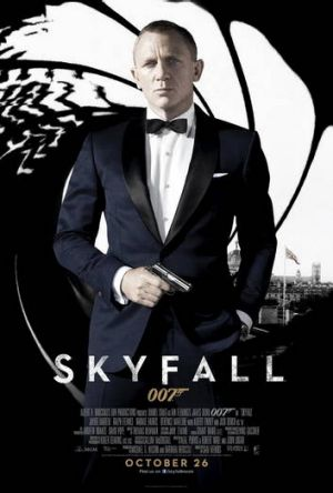 Skyfall 007... out in Canberra this week.