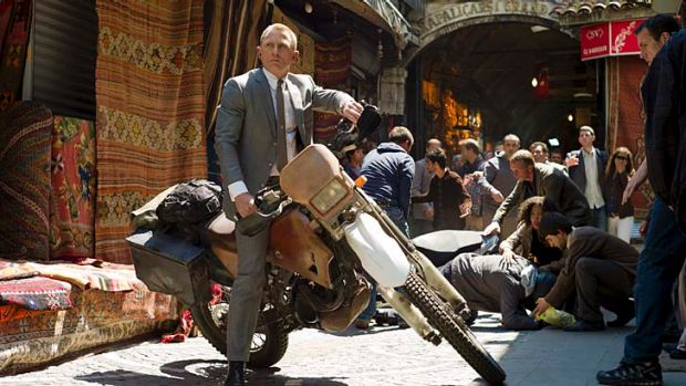 Set to ride again ... James Bond in <i>Skyfall</i>
