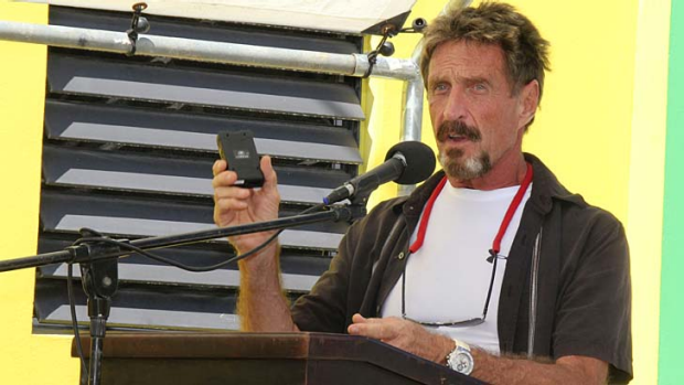 """I did not kill the man and I had no reason to do so"" ... John McAfee."