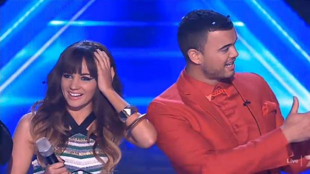 """I can't believe it"" ... winner Samantha Jade."