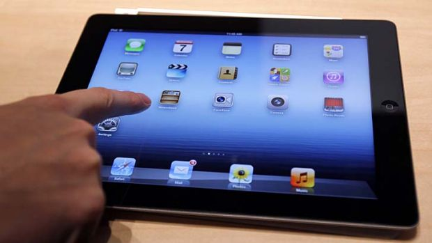 Disputed ... patents for Apple's iPad.