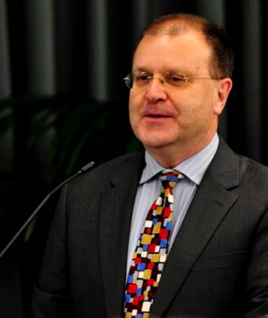 ACT Electoral Commissioner Phil Green.