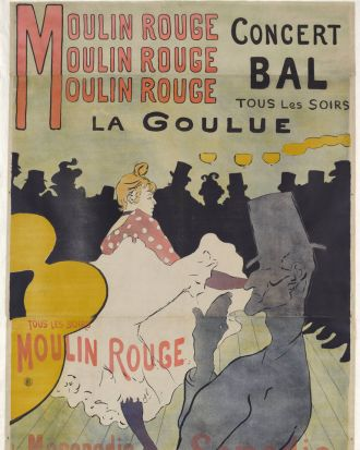 Moulin Rouge: La Goulue 1891.