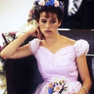 Some days a girl just has to let her inner Molly Ringwald out.