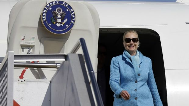 Hillary Clinton on a recent trip to Australia has continually shown women how to (literally) run the world.