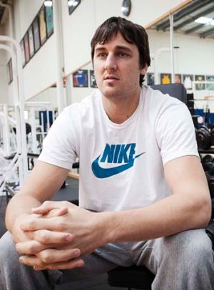 Still nursing injury: Andrew Bogut.