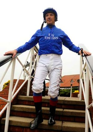 Charge likely: Frankie Dettori.