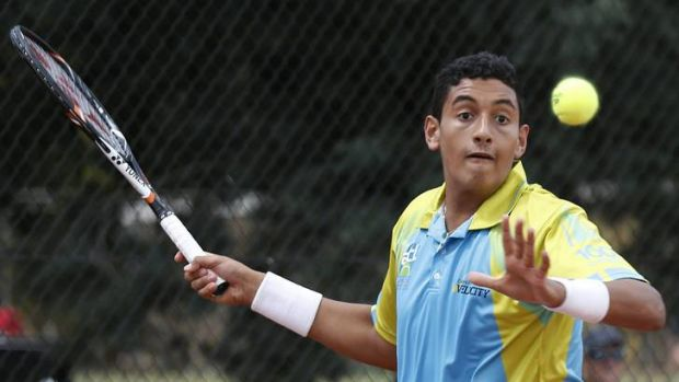 Canberra tennis sensation Nick Kyrgios.