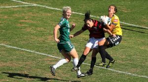 Canberra United keeper Trudy Burke faces a big test on Thursday night.