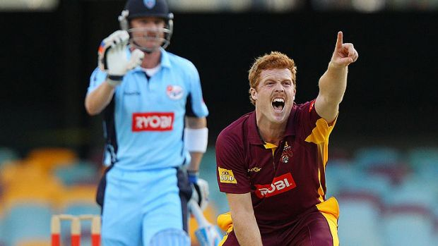 Alister McDermott took three wickets as the Bulls beat NSW at the Gabba.