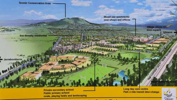 An artist's impression of the masterplan concept for the South Tralee site at Tralee.