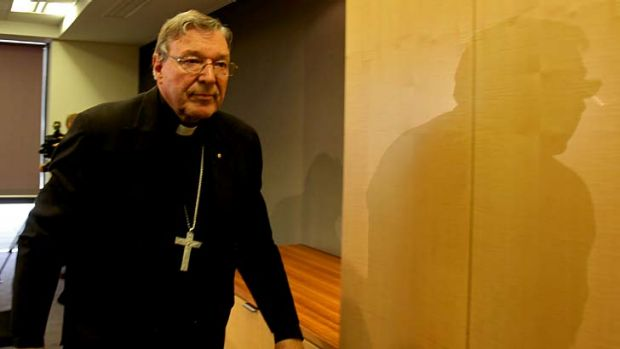 Empowered to appoint a governing council at St. John's ... Cardinal George Pell.