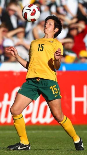 Australian Female Footballer of the Year ... Sally Shipard.