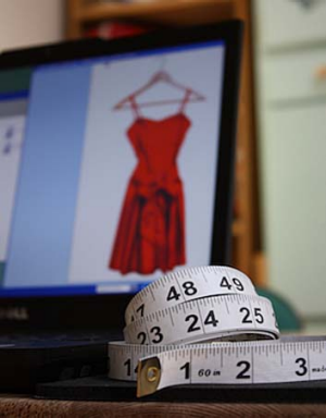 The new body scanner could revolutionise online clothes shopping.