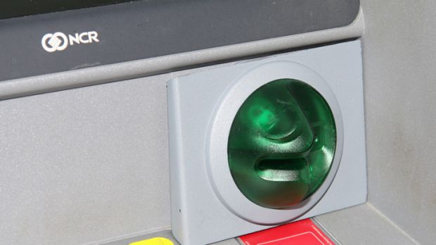 The skimming device is used to steal and use identification data from bank cards. Photo: Supplied.