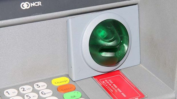The skimming device is used to steal and use identification data from bank cards.