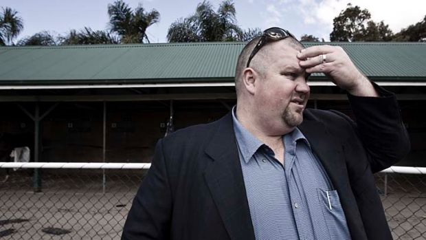 Waiting on the boss ... Patinack Farm employees are waiting for Nathan Tinkler to produce funds to help the business ...
