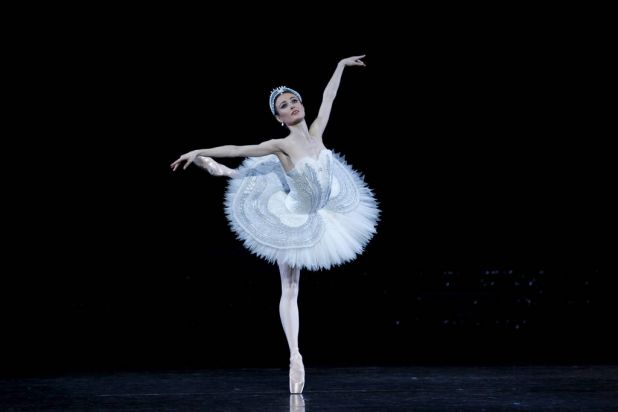 Amber Scott in the Australian Ballet's production of Swan Lake.