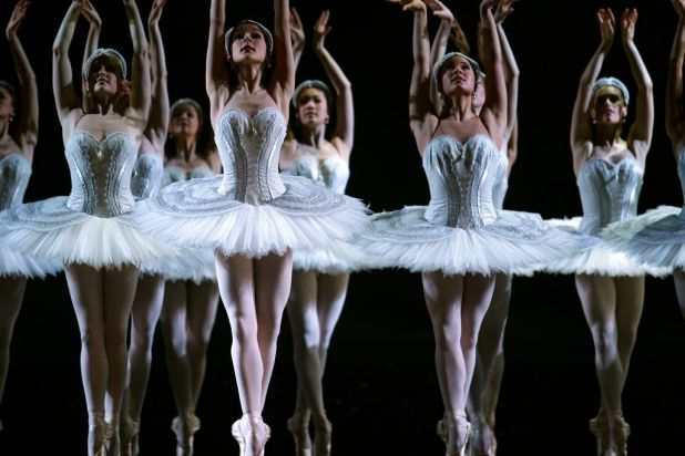 The Australian Ballet presents the world premiere of their new Swan Lake at the State Theatre in Melbourne.