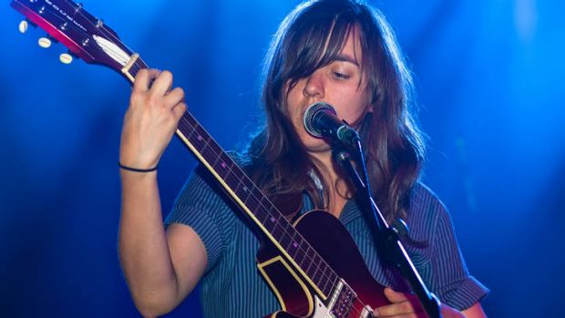 Courtney Barnett performs at the EG Awards.