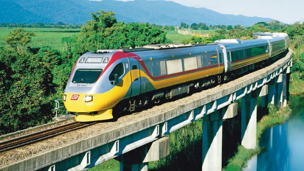A 200 metre-long tilt train derailed in 2011 on a trip between Townsville and Cairns.