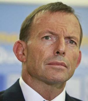 Asylum seeker plan ... Tony Abbott.